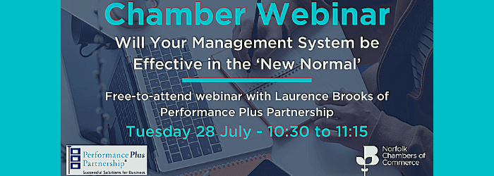 Will Your Management System be effective in the 'New Normal'
