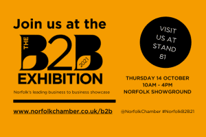 We're exhibiting at the B2B Exhibition