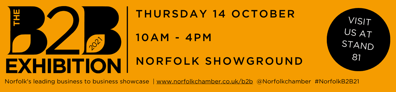 Join us at B2B Exhibition, Norfolk Showground